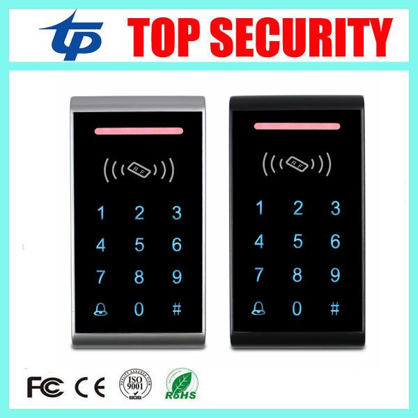 Sale Single door access control card reader 125KHZ RFID card smart card access controller touch keypad em card access control panel #Single #door #access #control #card #reader #125KHZ #RFID #smart #controller #touch #keypad #panel