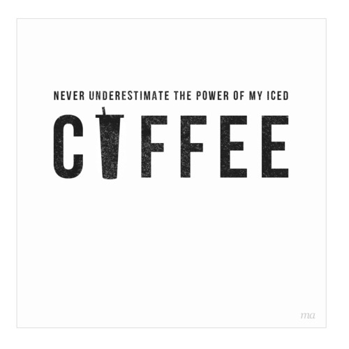 #coffee #typography