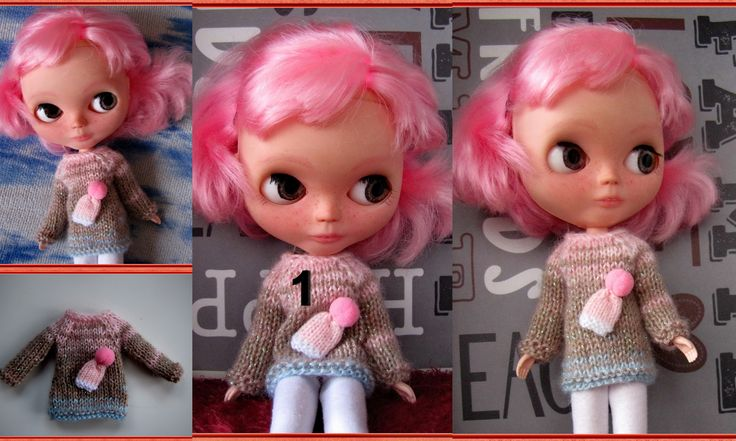 Sweater for Blythe Body Neo FREE SHIPPING