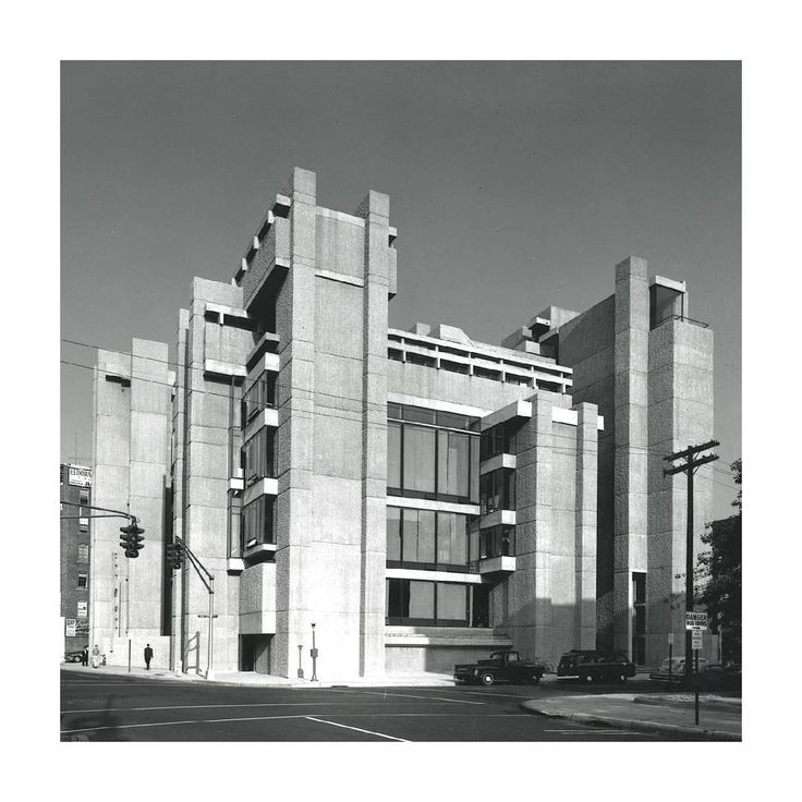 Yale Art and Architecture Building, Paul Rudolph