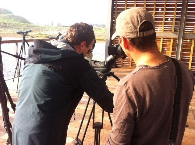 דניאל מוהלמן מדגים דיג'יסקופינג על טלסקופ של סברובסקי אופטיק http://yalon.co.il/article/28620