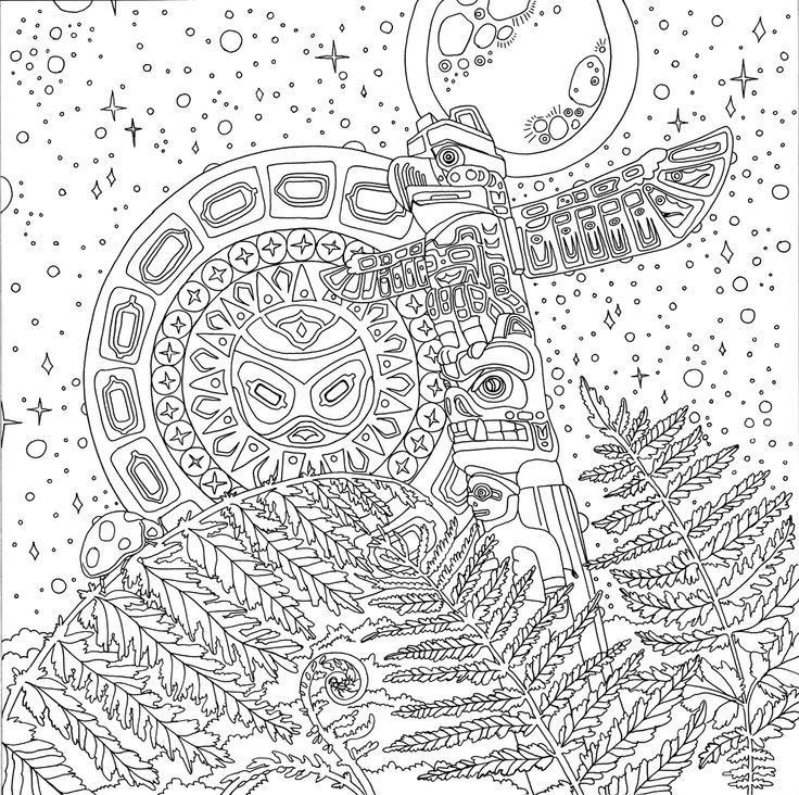 sioux coloring pages - photo#20