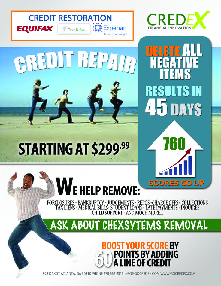 Credit Repair Flyer  Google Search  My BusinessMarketing Ideas