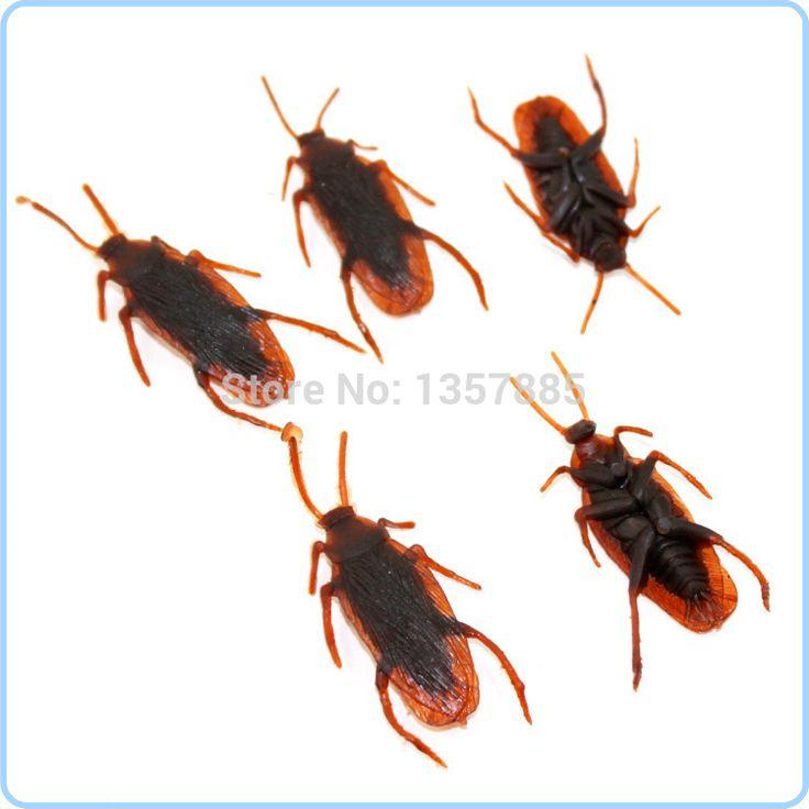 20 шт./лот 5.5 см большой размер тараканы Tricky Люди Забавный ужасов страшные реквизит вся игрушка моделирования таракана