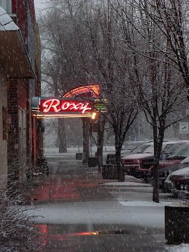 Montana Movie Theatres | RoadsideArchitecture.com |Roxy Theatre Montana
