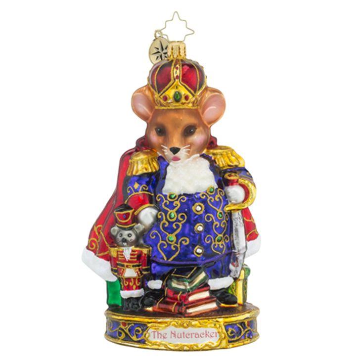Christopher Radko Ornaments | Radko Mouse King The Nutcracker Animals Christmas Ornament