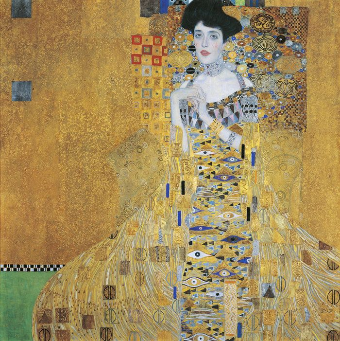 Maria Altmann fought her way to the Supreme Court to force the Austrian government to give back this painting by Gustav Klimt of her aunt, Adele Bloch-Bauer.