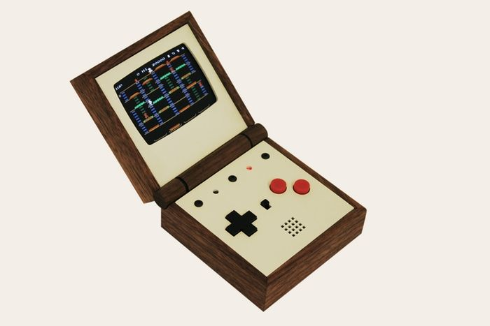 A pocket-sized emulator for the dedicated gamer, handmade from solid walnut. A true gaming jewel!