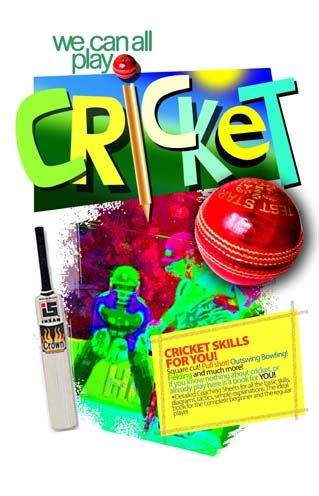 Here is the cover of a book for children to take home and study cricket skills for themselves which we, as coaches at Wanstead CC in London have produced for the use of our keen U11's