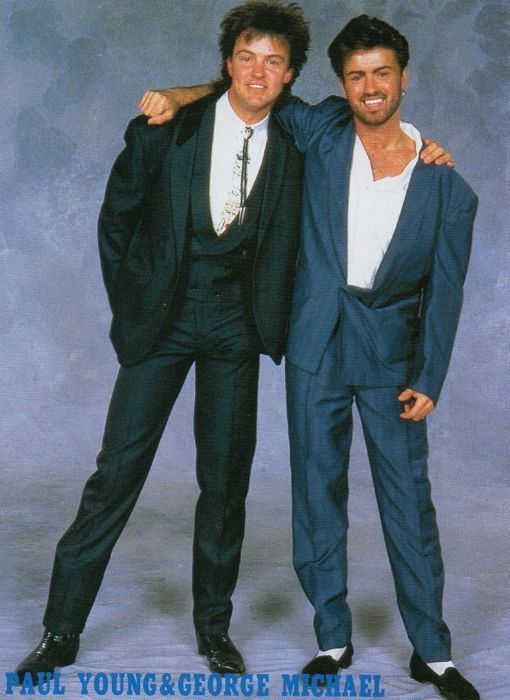 George Michael w/ Paul Young