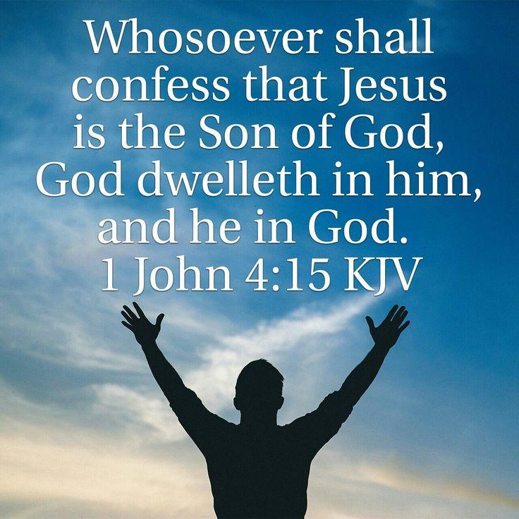 1 John 4:15 KJV