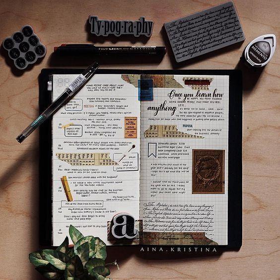 每个女孩心目中都有一本属于自己的记事本,记载着自己的回忆。但是每天看着自己的记事本都是一行行的字,总会感到有些沉闷无趣。想要为自己的journals添上一些新意吗?不妨参考以下的idea哦!1. 喜欢简单风格的你,不妨贴上一些小贴纸,可以为自己的日志添上一些乐趣哦!2. 喜欢粉色系的你可以尝试这些设计哦。3. 你是黑白控吗?这些设计一定能吸引你!4. 喜欢金属系列的你也可以尝试这一些设计5. 走在可爱风尖端的你,可以选择这一系列的哦6. 喜欢花花的你,这一款可以拿去参考哦7. 复古系列也是不错的选择哦如果这里找不到适合你的款式,女孩们可以到pinterest或instagram去搜索一些有名的planners作品哦!