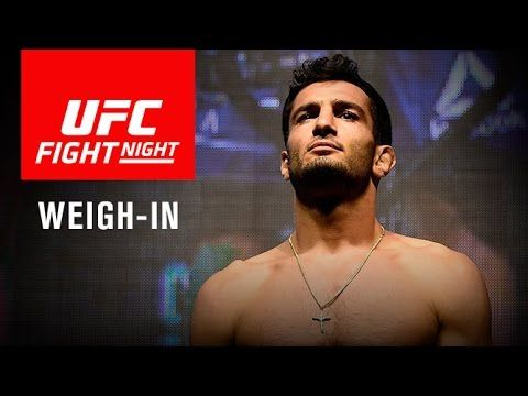 UFC Fight Night 99 Weigh-In Video & Results - http://www.lowkickmma.com/UFC/ufc-fight-night-99-weigh-in-video-results/