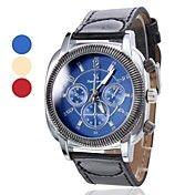 analog PU cuarț ceas de mână pentru bărbați (... – EUR € 8.27