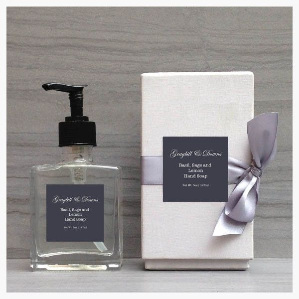 Basil, Sage, and Lemon Hand Soap