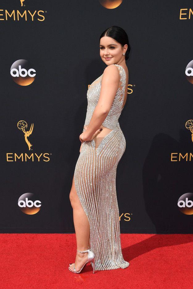 Ariel Winter Voici ce que les stars ont porté à la cérémonie des Emmy Awards 2016