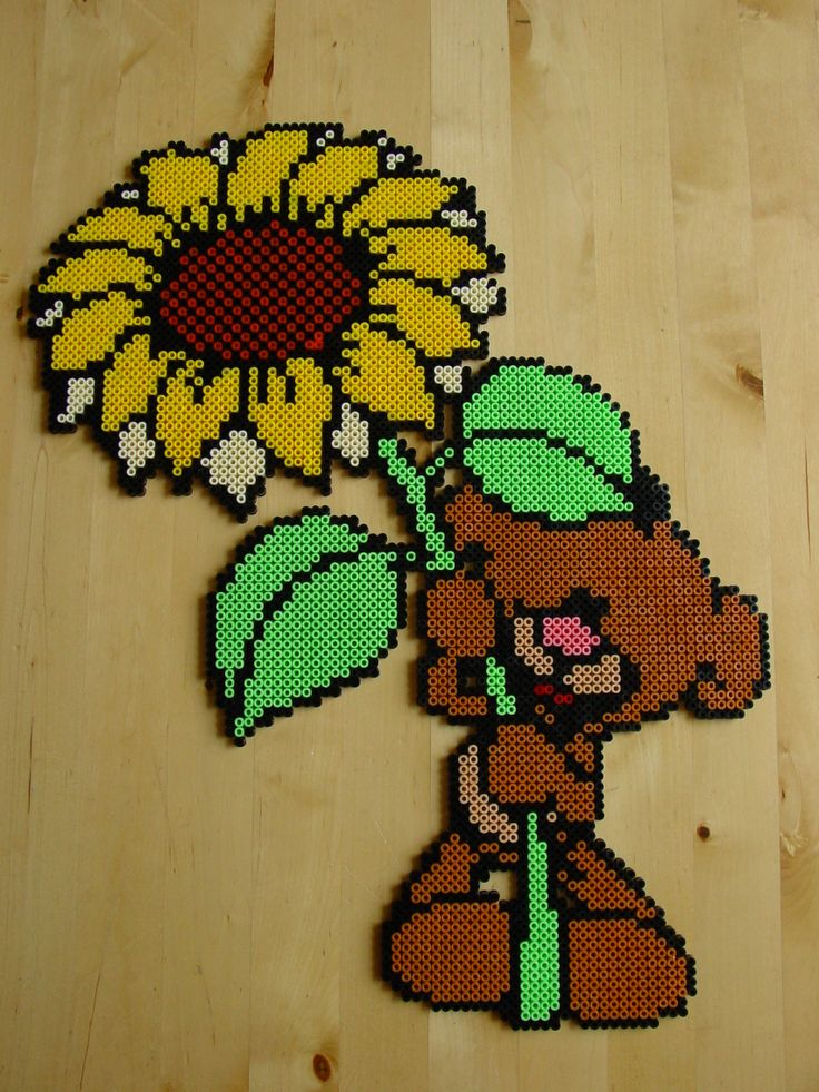 Pimboli - Diddl hama beads by Hester