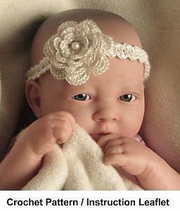 How to Crochet Baby Headbands | Crochet Baby Headband