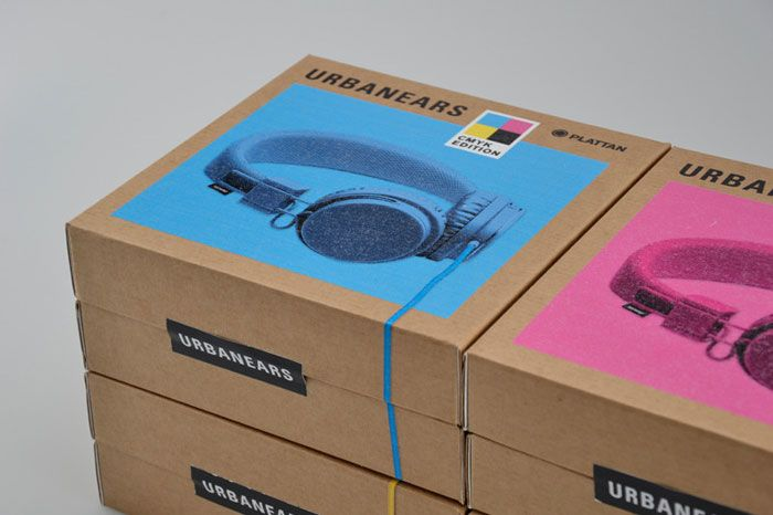 Concept packaging for a new series of headphones from Urbanears