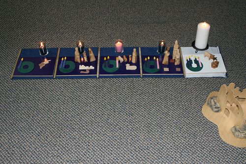 How to Use Godly Play at Home during Advent at Living Montessori Now