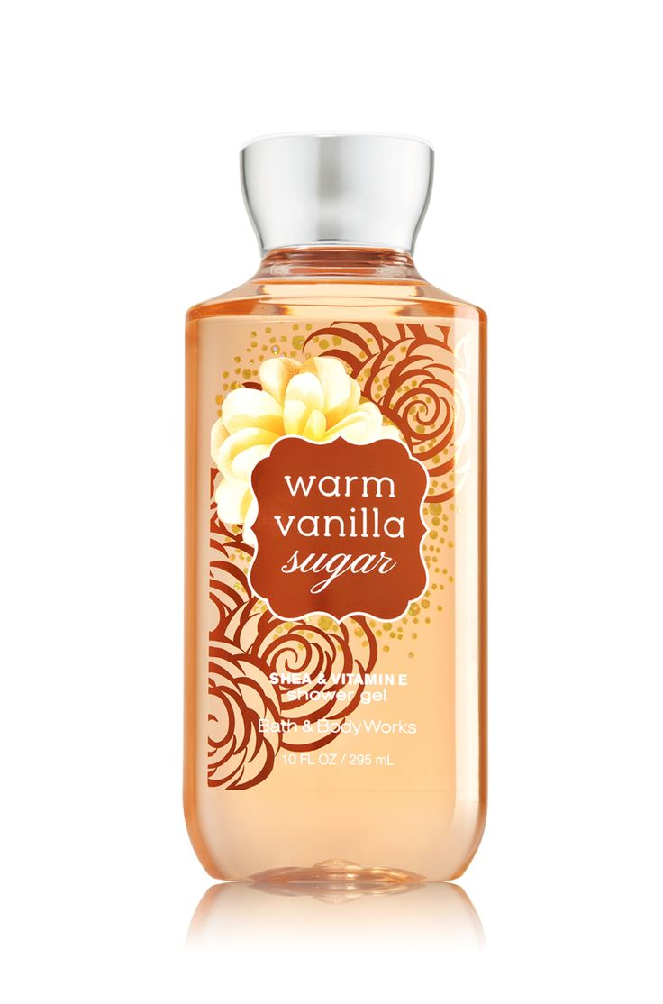 Warm Vanilla Sugar Shower Gel - Signature Collection - Bath & Body Works - Top Notes: Intoxicating Vanilla, White Orchid Mid Notes: Vanilla Tonka, Sparkling Sugar, Fresh Coconut, Fresh Jasmine Dry Notes: Warm Vanilla Bean, Cocoa Bean, Creamy Sandalwood