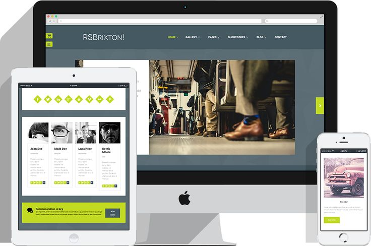 Modern layout, fresh feel, electric palette + RSMediaGallery! included Marketing agency website, business website or portfolio? RSBrixton! is the perfect template for captivating the attention of potential clients and business partners.  http://bit.ly/1MDygsy ‪#‎RSBrixton‬! ‪#‎JoomlaTemplate‬ ‪#‎MarketingAgency‬