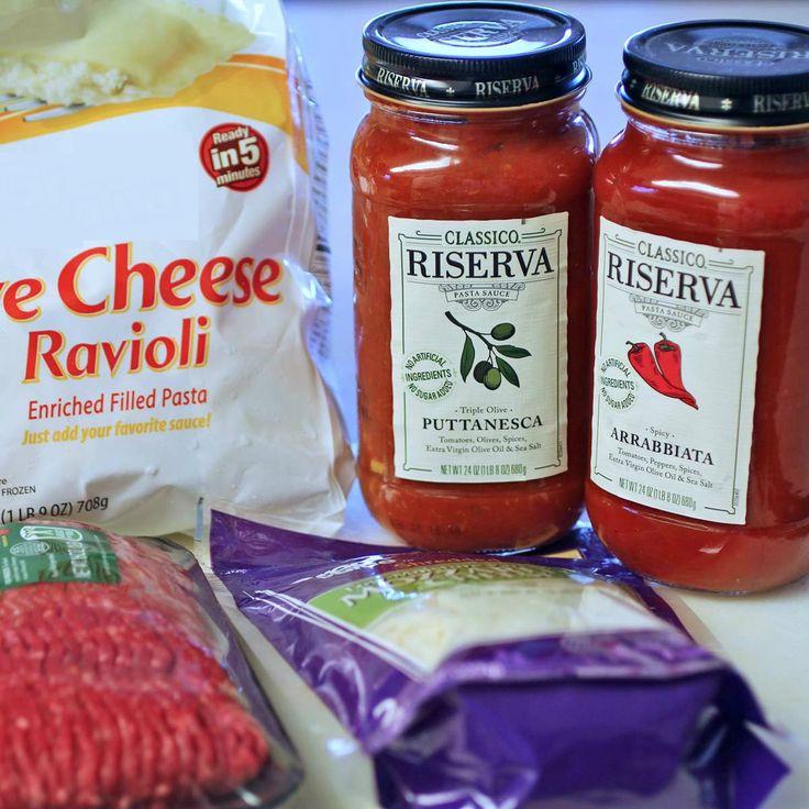 Baked Ravioli Casserole