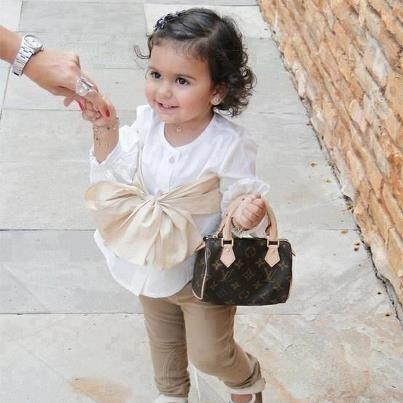 Adorable! Baby Louis Vuitton handbag! Love love love ...