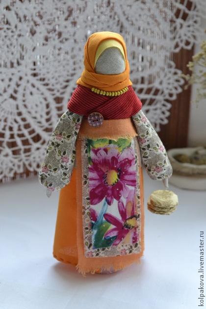 Народные куклы ручной работы. Ярмарка Мастеров - ручная работа кукла Масленица Домашняя.. Handmade.