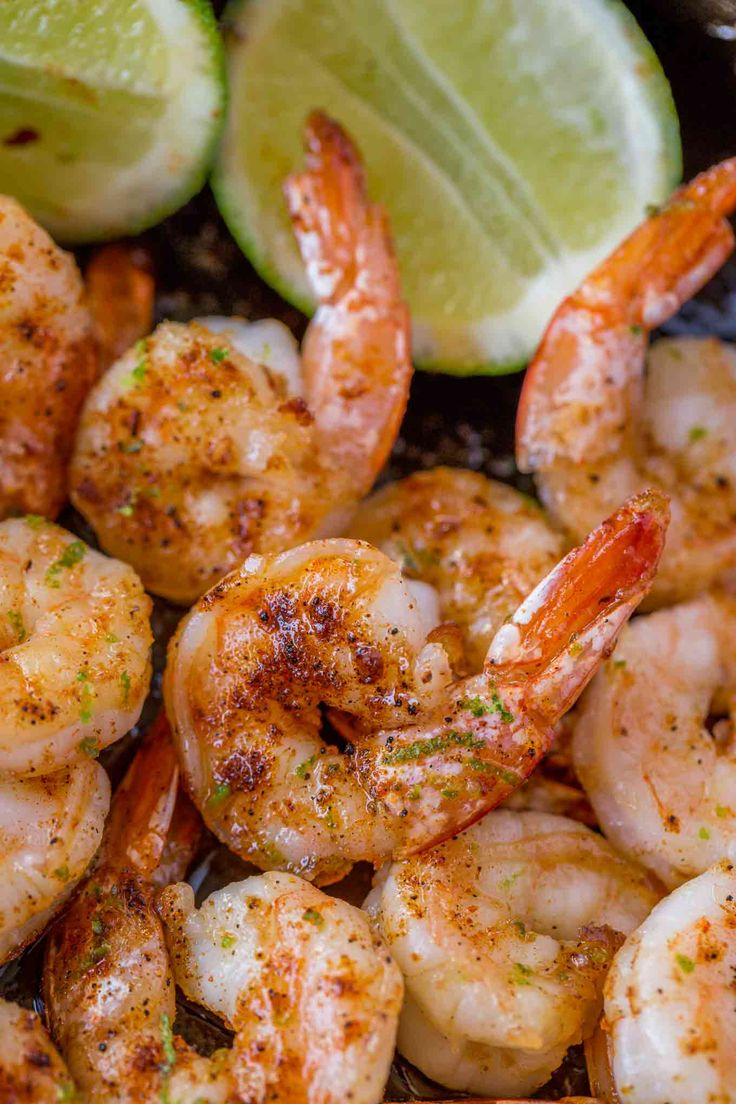 Chili Honey Lime Shrimp with just five ingredients is a quick and easy main dish, salad topping, taco filling or more with just 2 smart points per serving. A Weight Watchers friendly recipe.