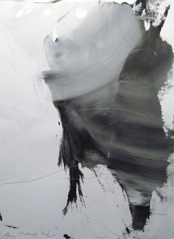 2014.AmIesomne.40x30cm, ink, pencil, paper, m