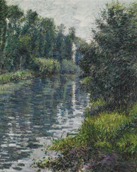 Gustave Caillebotte, LE PETIT BRAS DE LA SEINE, ARGENTEUIL