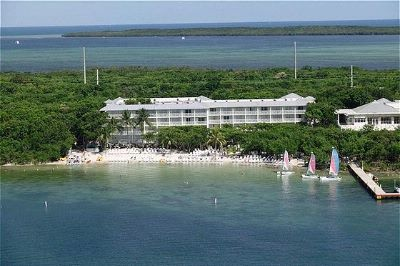 Key Largo Hilton Resort.  Tucked away from the world.