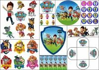 Paw Patrol Free Printable Kit.