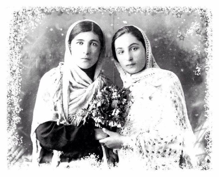 Left #princess #Dudova Sabithan, right #noblewoman Kodzhakova Fatia Musabievna (1912-2002).