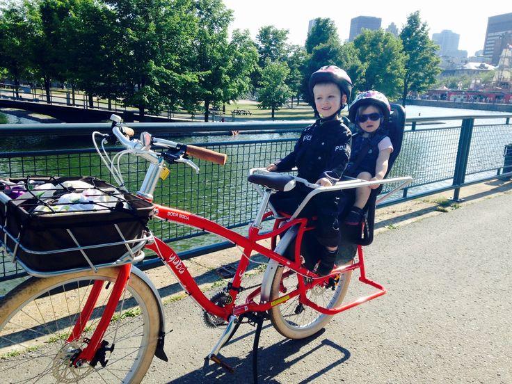 Voyager au quotidien en vélo cargo