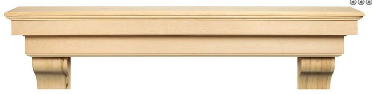 "Solid Wood Pine Fireplace mantel shelf fireplace mantle 72"" *** FREE SHIPPING **"