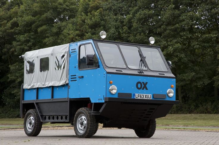 ➡It's not just another truck 🚚: Global Vehicle Trust OX: The creator of the…