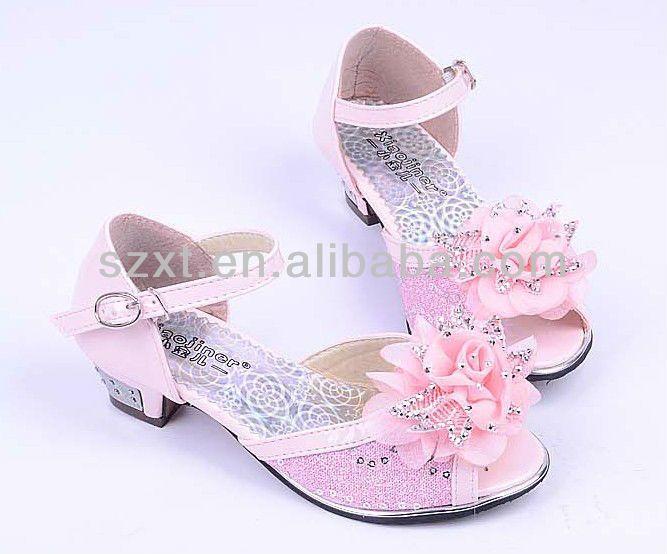 #2013 kids high heel shoes , #heel shoes kids dress shoes , # gilrs glitter heels factory