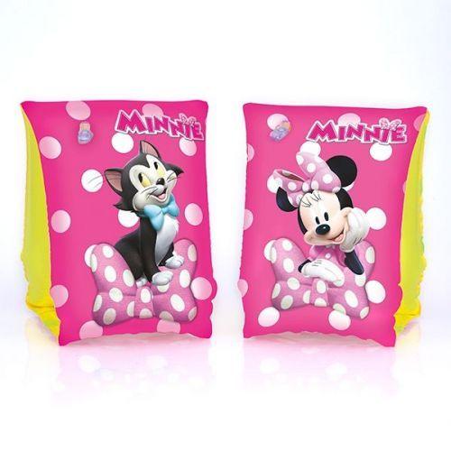 Brassards gonflables Minnie - 2,50 € - En plus de leur sécurité, les brassards gonflables Minnie sont adorés des filles pour les baignades à la piscine ou à la mer... à petit prix, plus d'infos sur Planete Discount