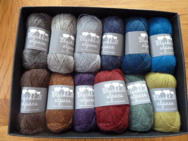 Wonderfull Alpaca yarn from  www.garnudsalg.dk