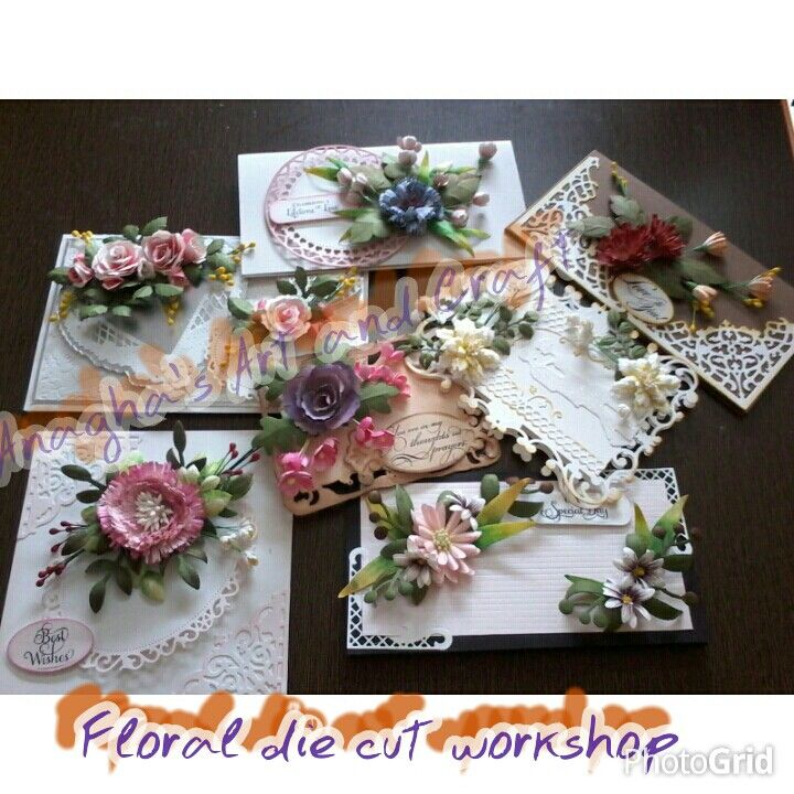 Floral die cut course