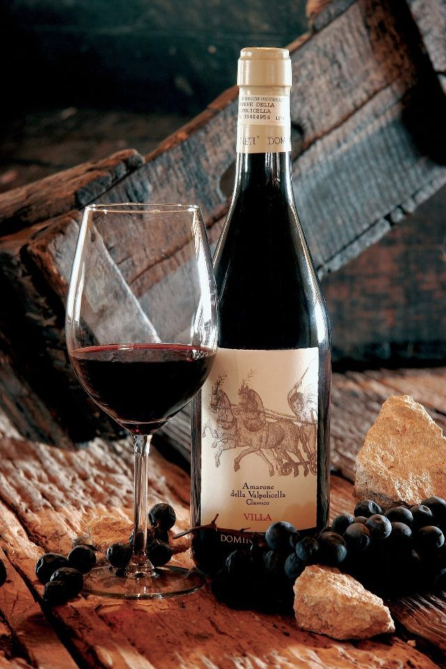 Amarone della Valpolicella is an intensely flavored dry red wine made from dried (passito) grapes
