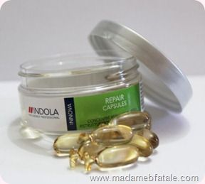 Indola Innova Repair Capsules http://pinterest.com/toscahairbeauty/ www.toscasalon.com  https://www.facebook.com/ToscaHairAndBeauty#!/ToscaHairAndBeauty