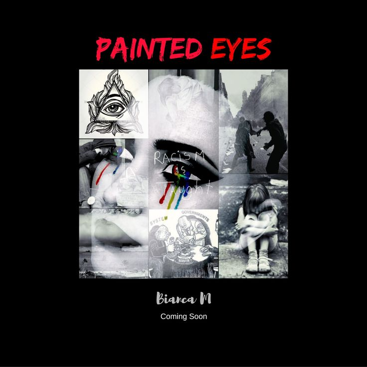 Painted eyes concept arts.
