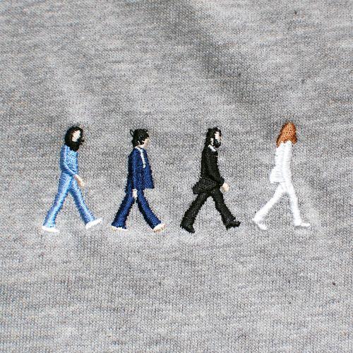 Bordado dos Beatles! tessituras crafts
