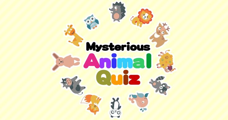 """The Japanese swear by the """"Mysterious Animal Quiz"""", to determine compatibility with friends, family or partners. http://yabai.com/p/2420"""