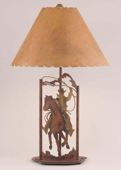 Table Lamps in Western, Lodge or Cabin Styles