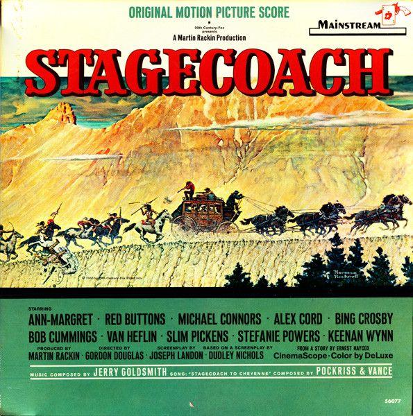 Jerry Goldsmith - Stagecoach (Original Motion Picture Score): buy LP, Album, Mono at Discogs