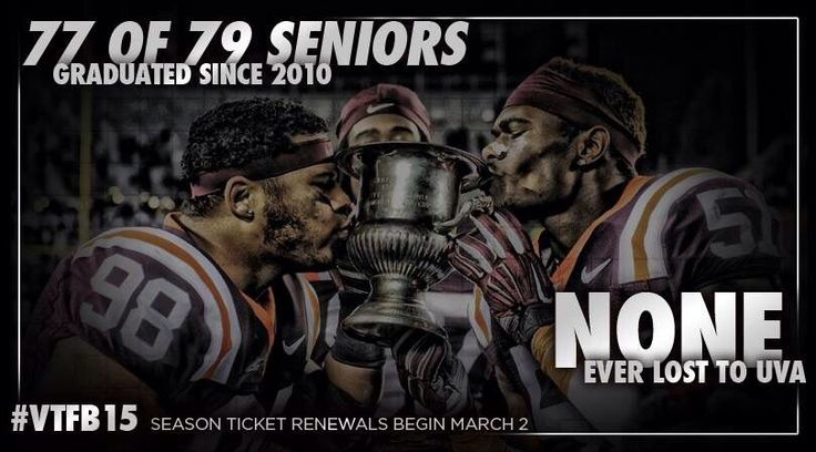 Virginia Tech Football #hokienation #virginiatechfootball #beatuva #commenwealth up